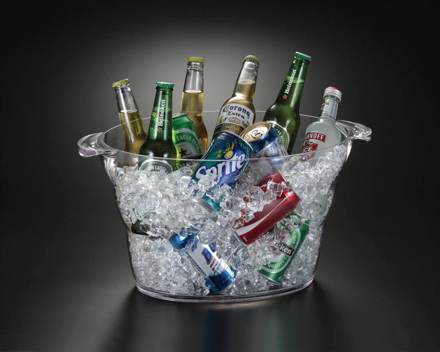 14 Quart Oval Beverage Tub