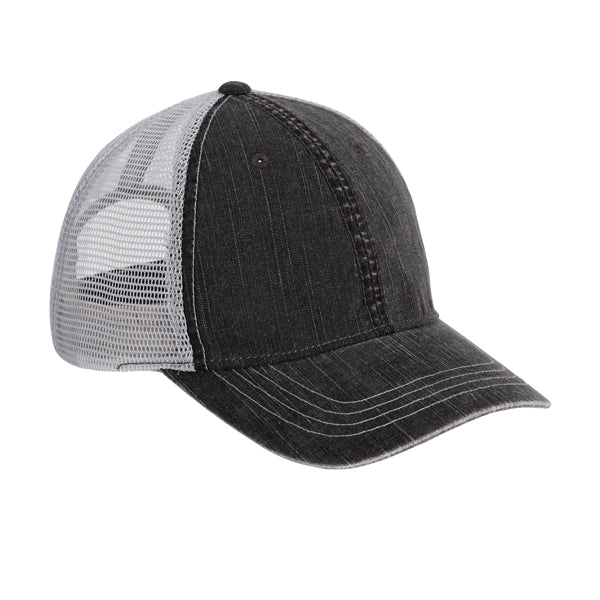 Charcoal Distressed Trucker Hat