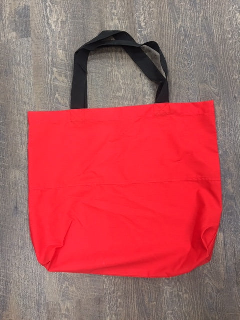 Large Light Red Tote Bag