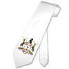 Sublimation - Matte White Poly Satin Neck Tie
