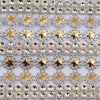Star Rhinestone Mesh Ribbon -10 YARD BOLT