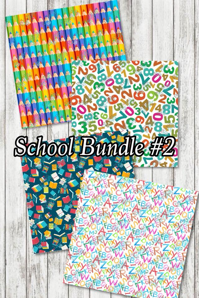 ADH-Printed Adhesive-School #2-Bundle