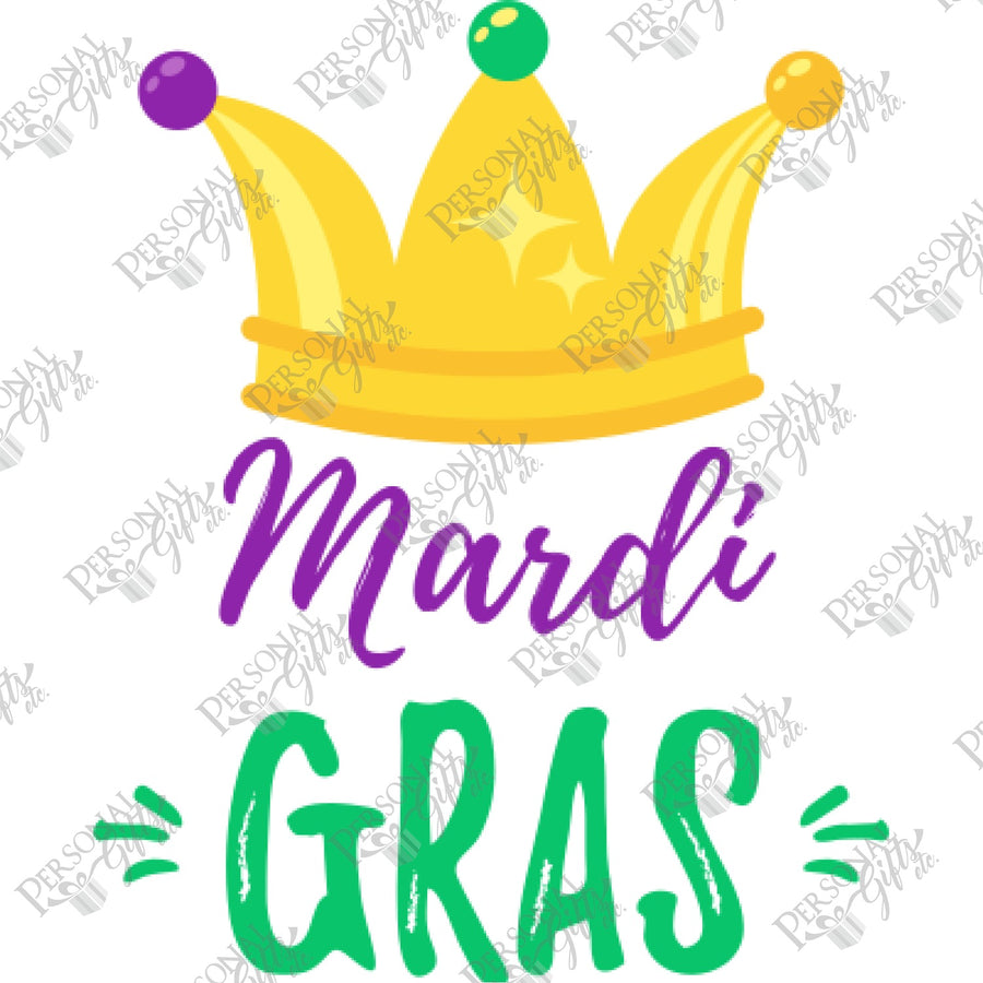 SUB- Mardi Gras Crown