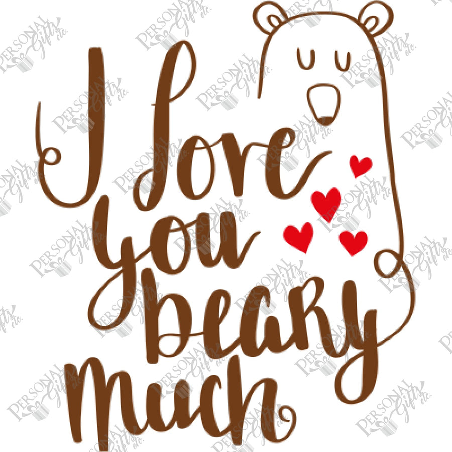 SUB- I Love You Beary Much