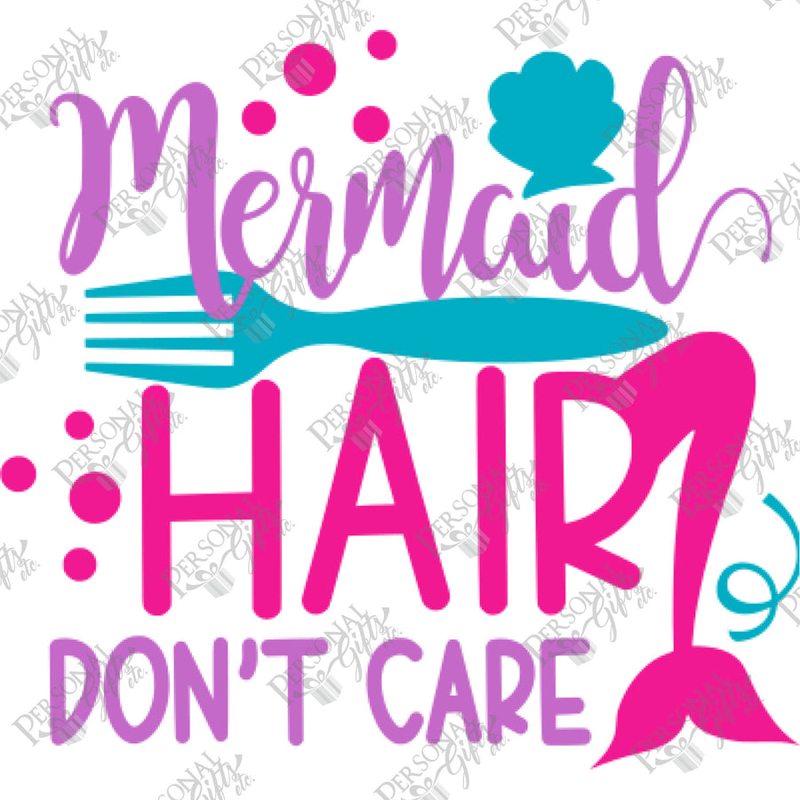 SUB- Mermaid Hair, Don't Care
