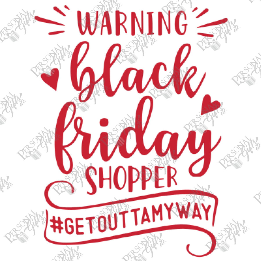 SUB- Black Friday Warning