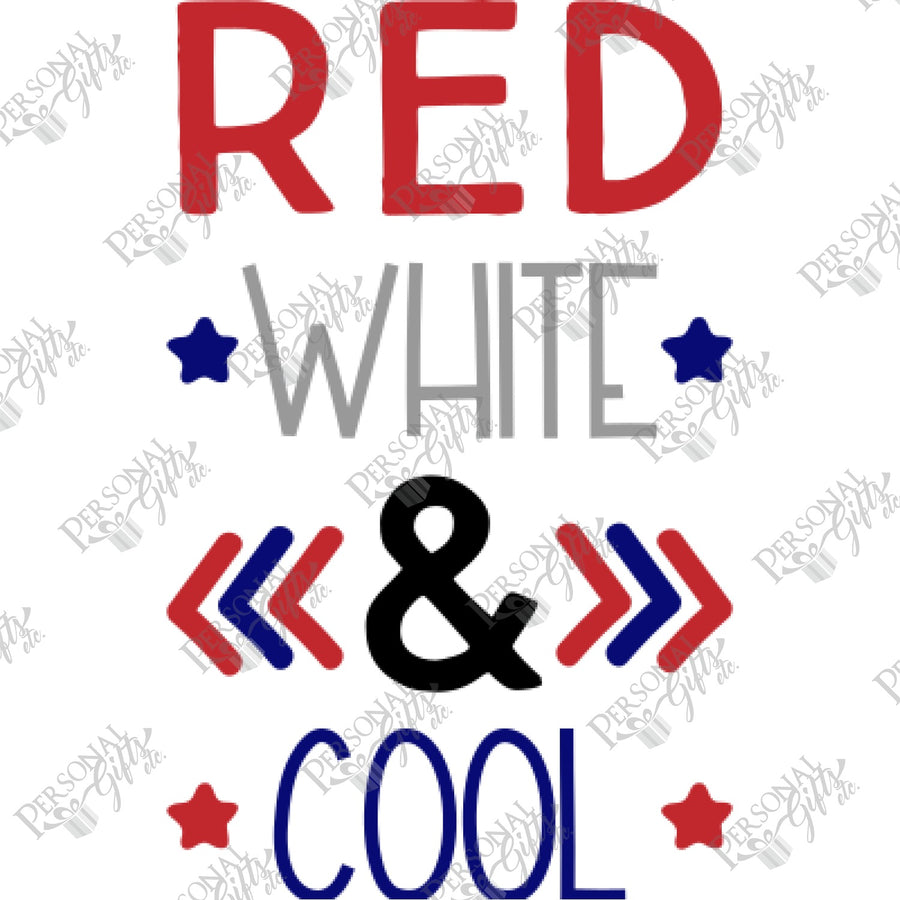 SUB- Red, White, & Cool