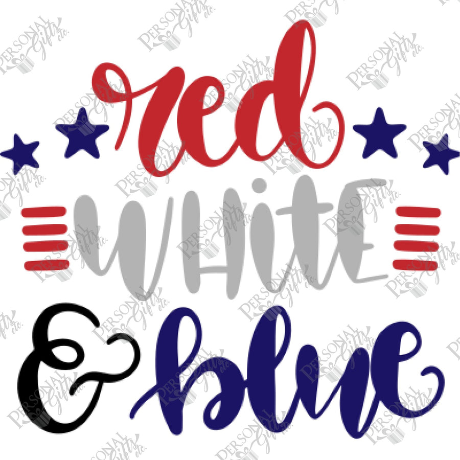 SUB- Red, White, & Blue
