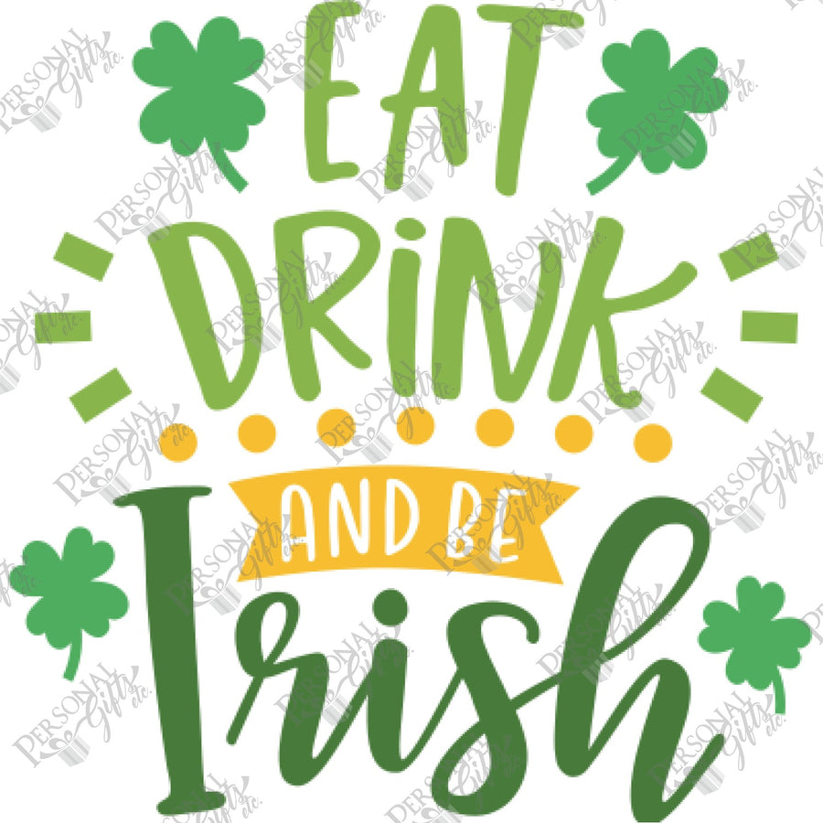 SUB- Eat, Drink, & Be Irish 2