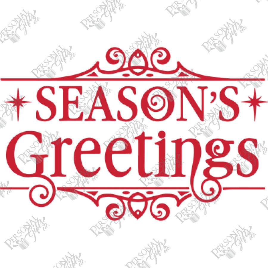 SUB- Season's Greetings