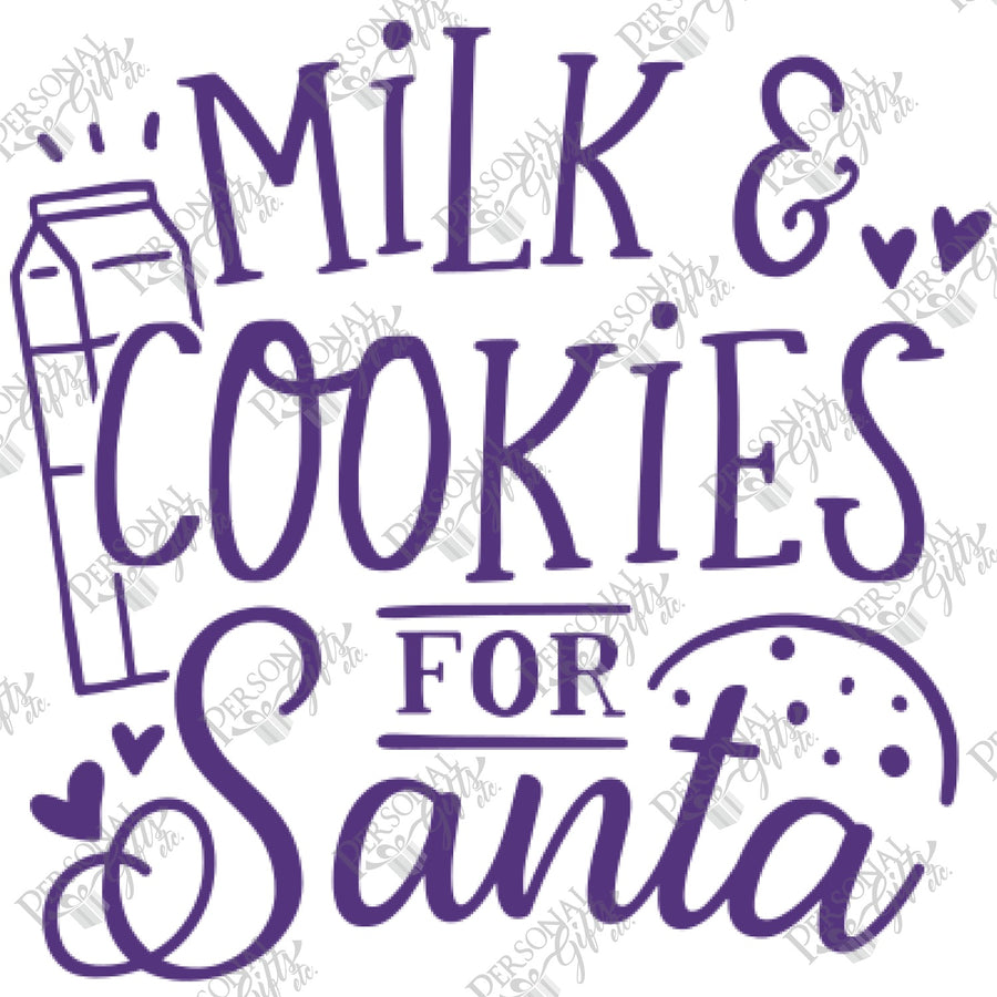 SUB- Milk & Cookies for Santa
