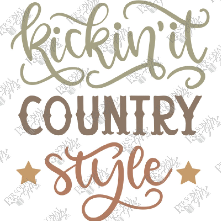 SUB- Kickin' It Country Style