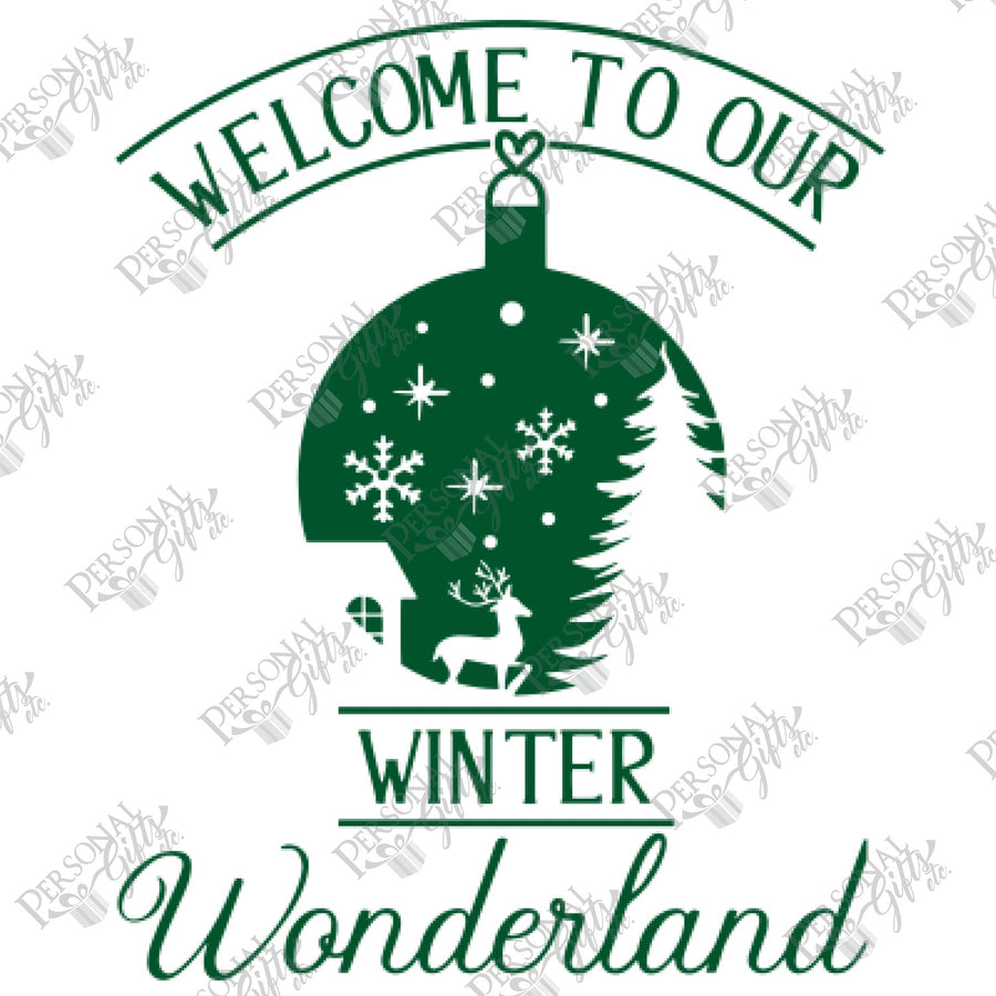 SUB- Our Winter Wonderland