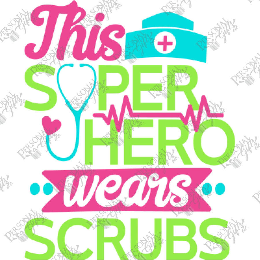 SUB- This Superhero Wears Scrubs
