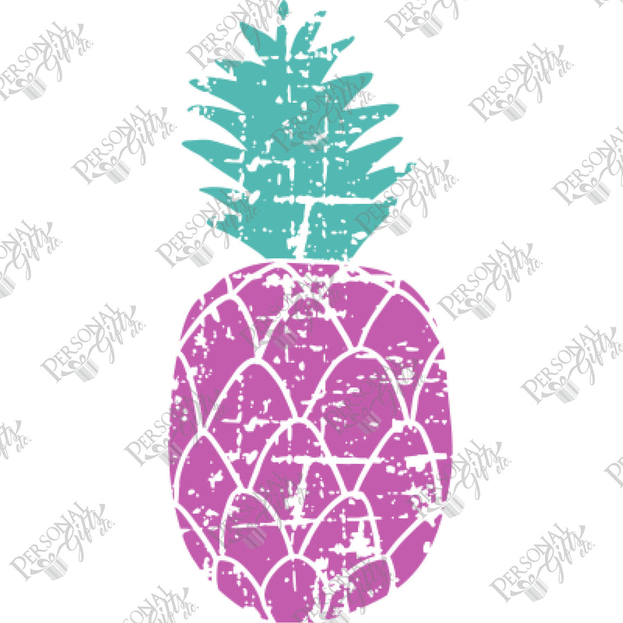 SUB- Distressed Pineapple