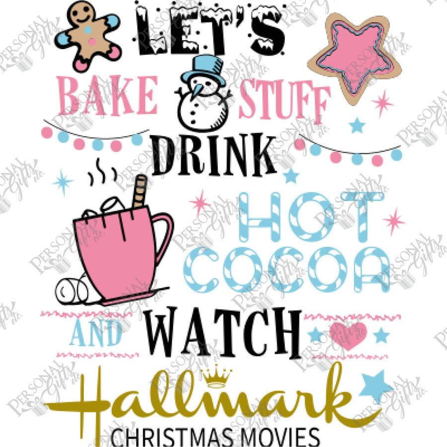 SUB- Bake Stuff, Drink Cocoa, Watch Hallmark