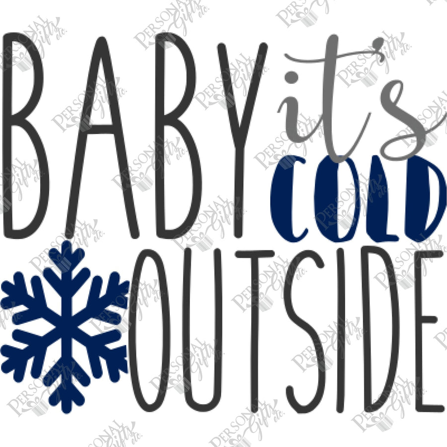 SUB- Baby It's Cold Outside