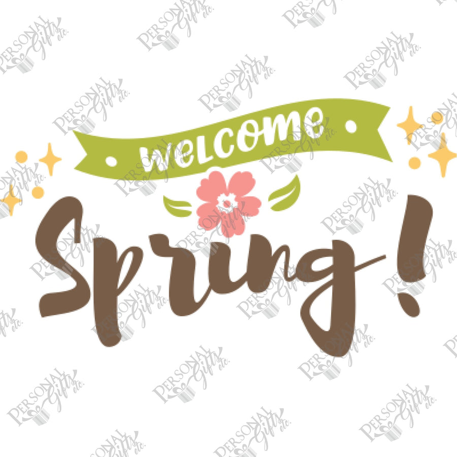 SUB- Welcome Spring 2