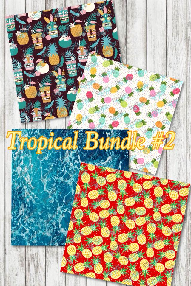 ADH-Printed Adhesive-Tropical #2-Bundle