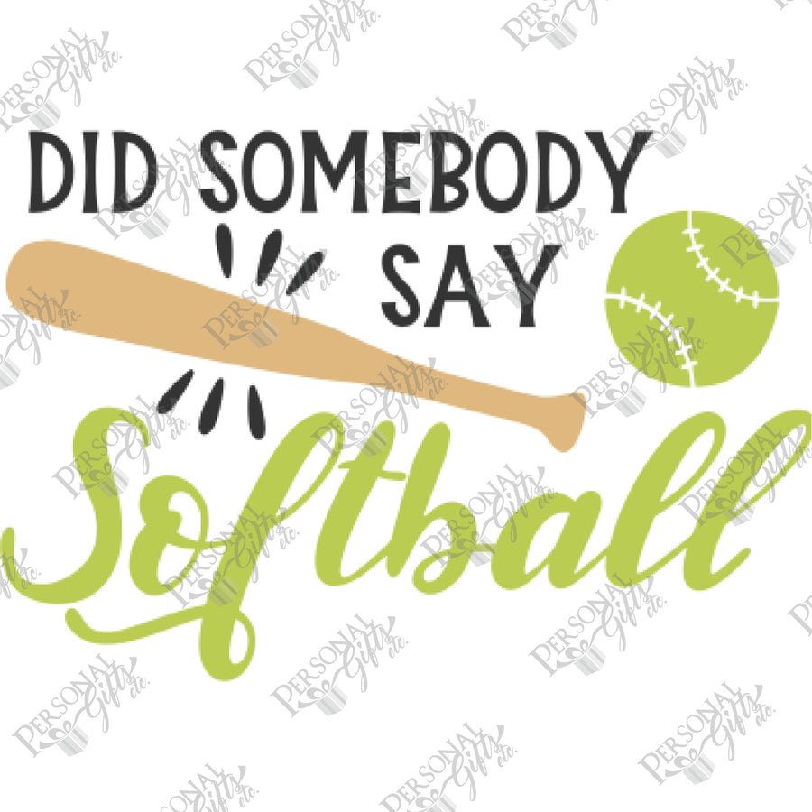 HTV- Did Somebody Say Softball?