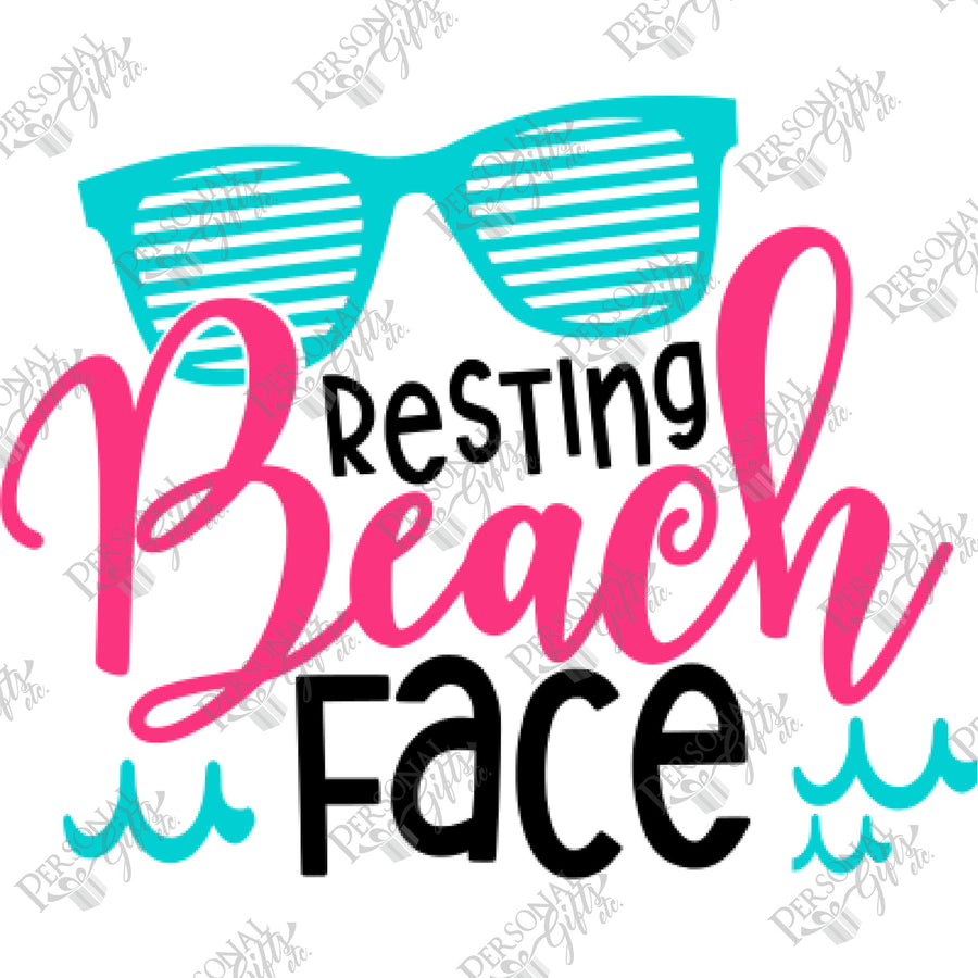 HTV- Resting Beach Face