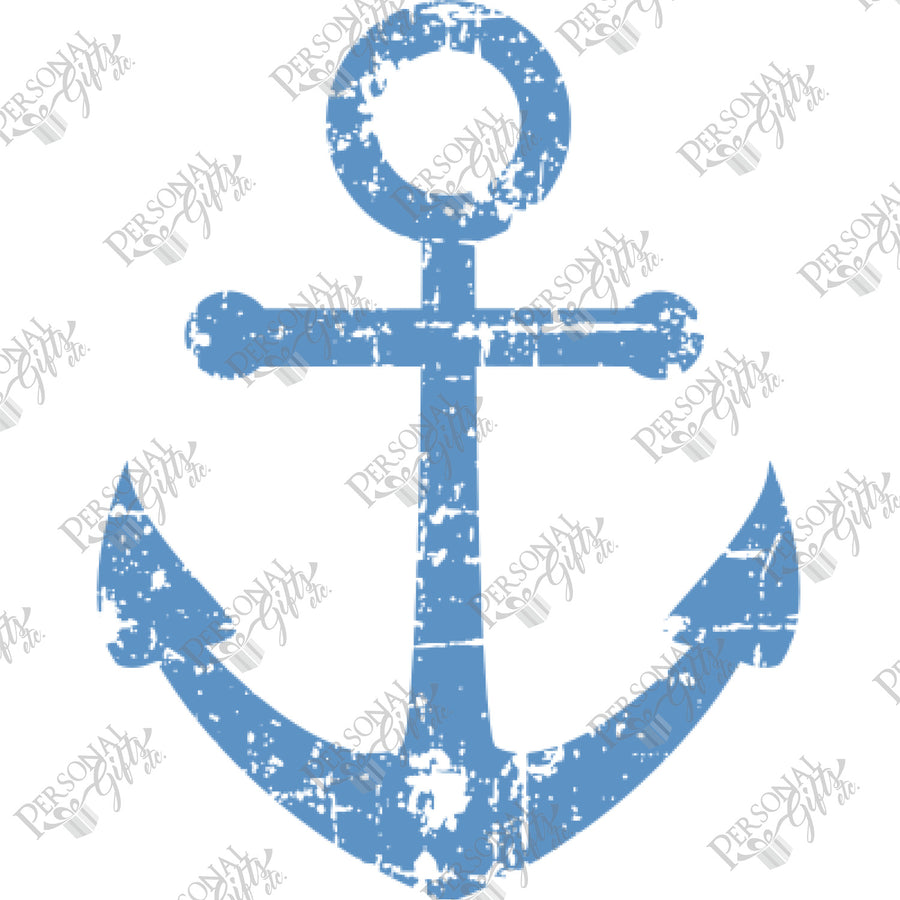 HTV- Distressed Anchor