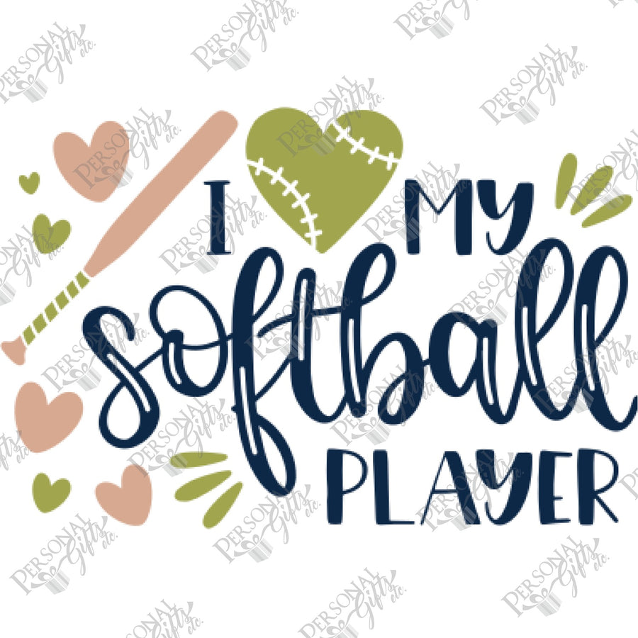 HTV- My Softball Player
