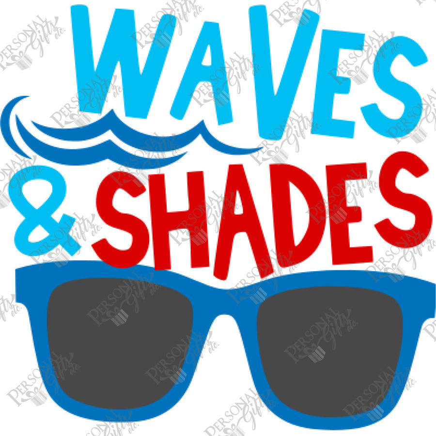 HTV- Waves & Shades