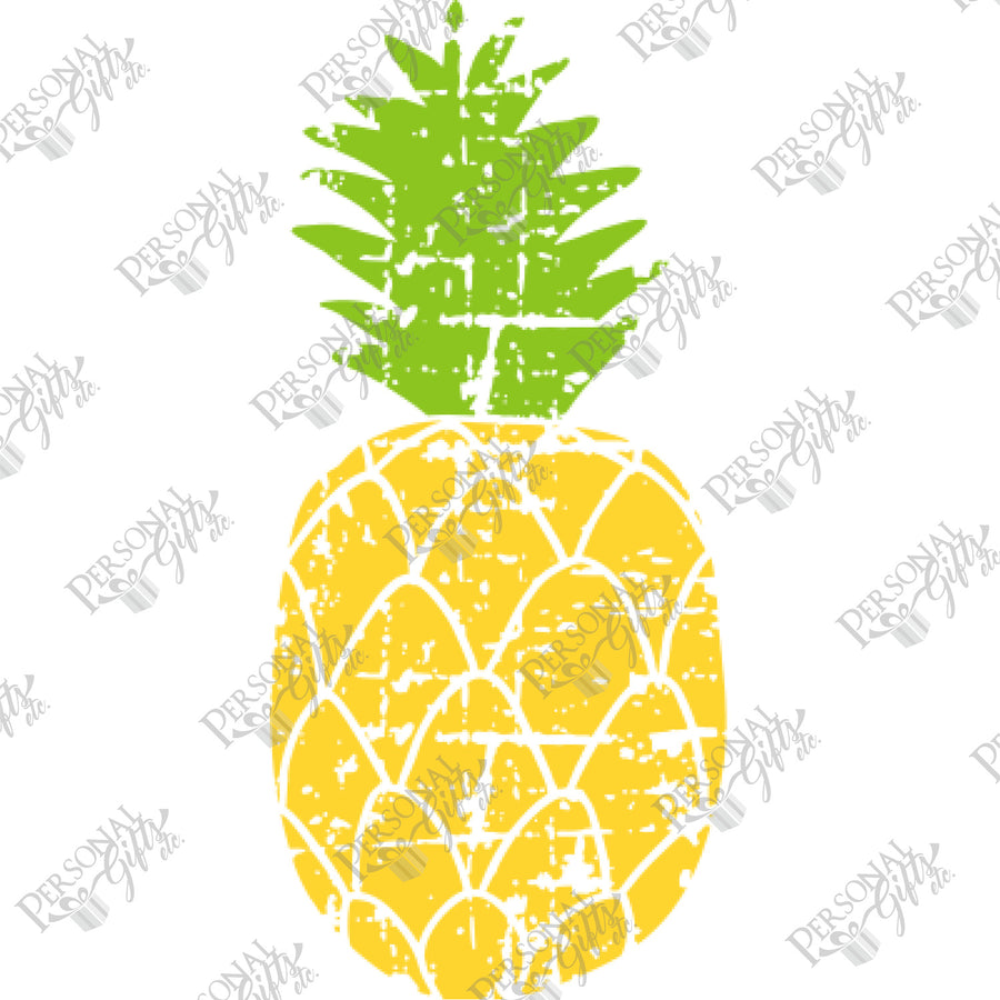HTV- Distressed Pineapple