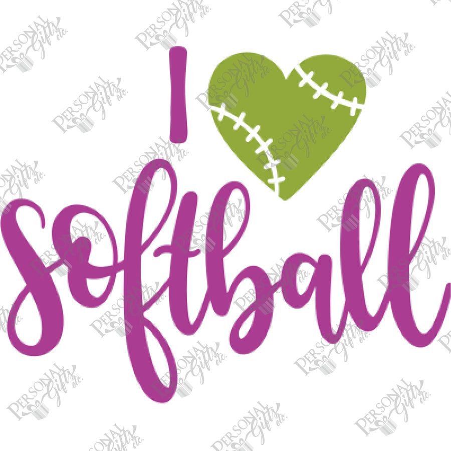 HTV- I Love Softball