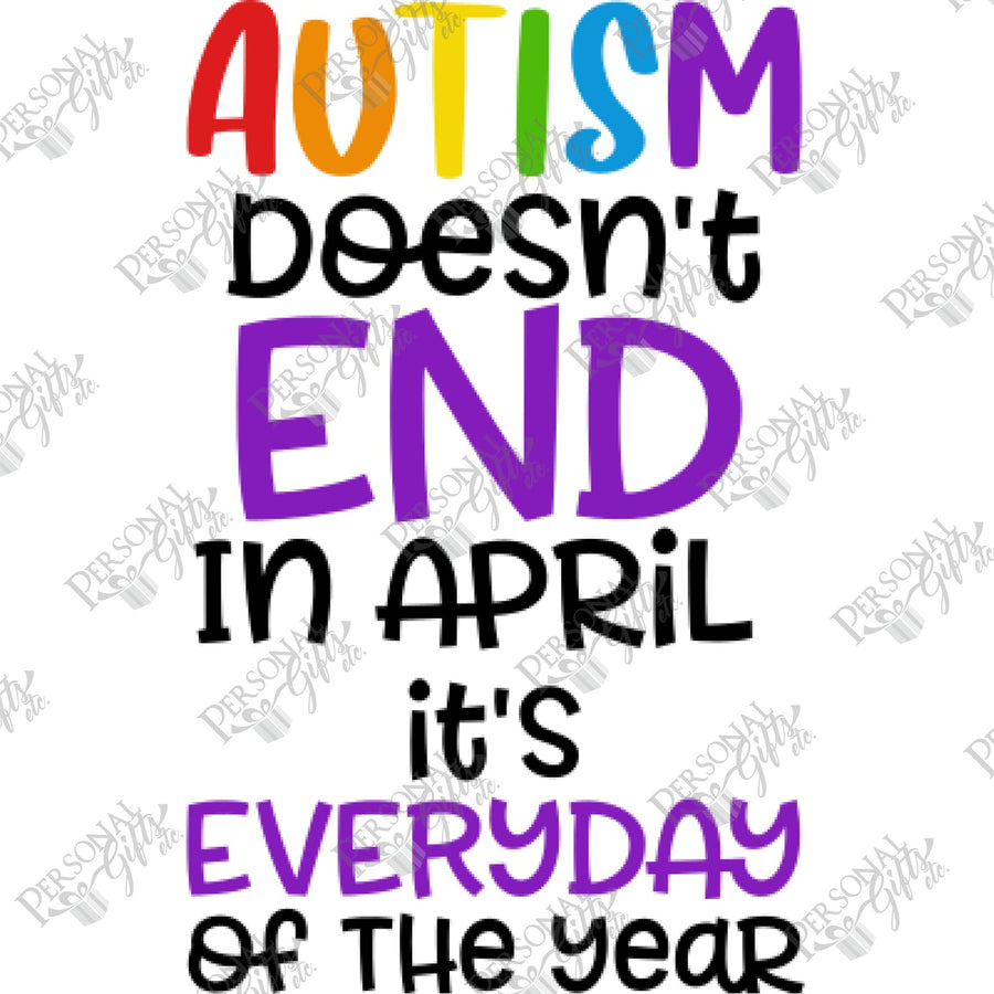 HTV- Autism Doesn't End