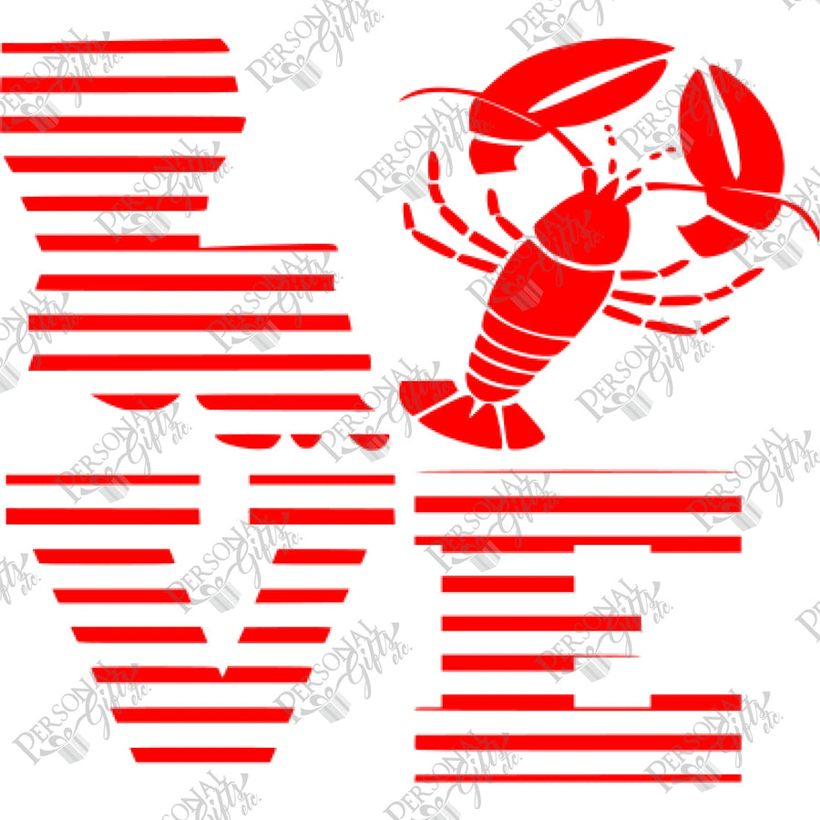 HTV- Love Crawfish
