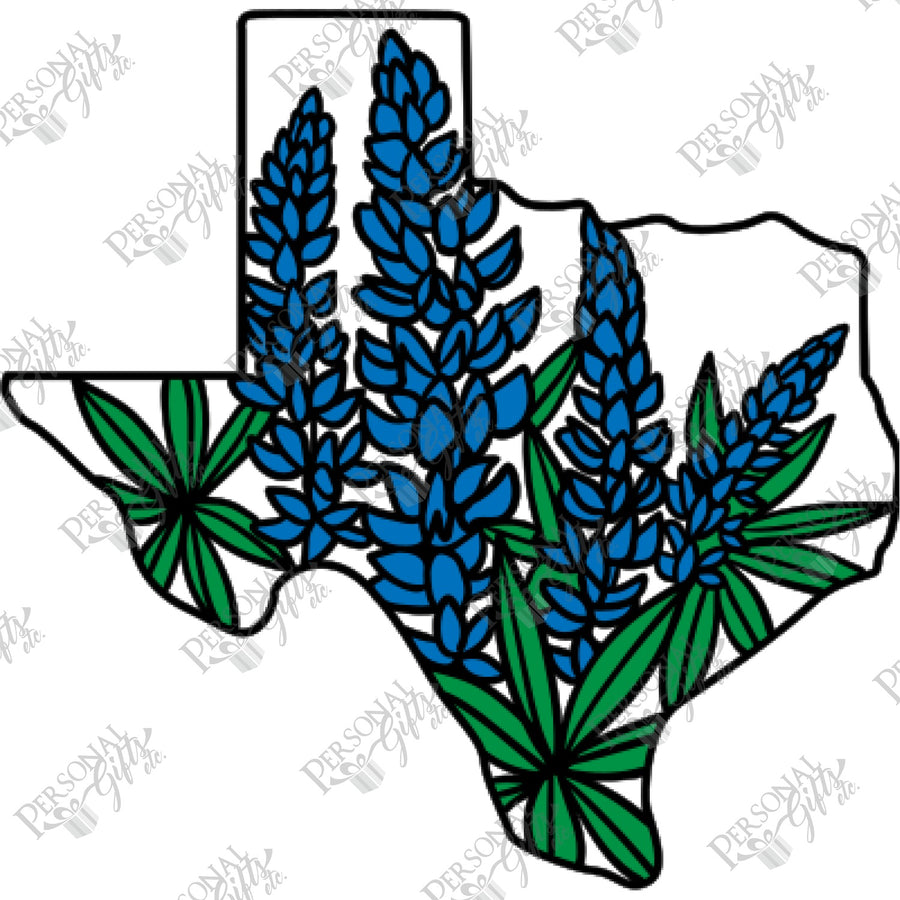 HTV- Texas Bluebonnet 2