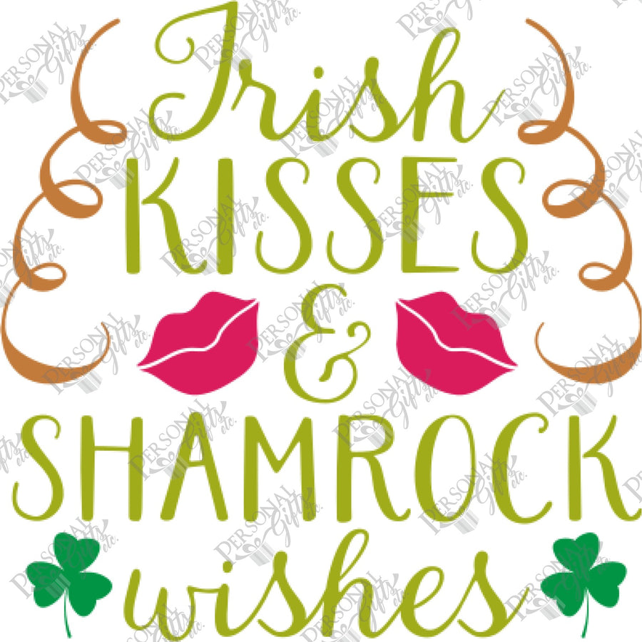 HTV- Irish Kisses & Shamrock Wishes