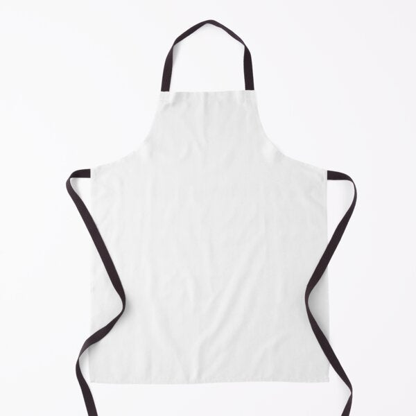 Sublimation Apron with black straps