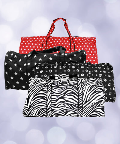 Duffel Bag-Various prints