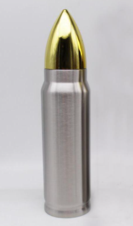 Stainless Steel Bullet Water Bottle-17oz