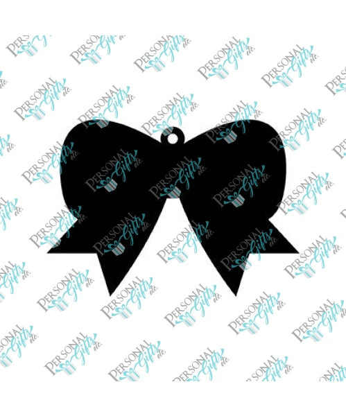 Cheer Bow Blank Keychain Blanks