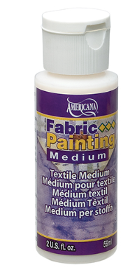 Americana Fabric Paint Medium 2oz