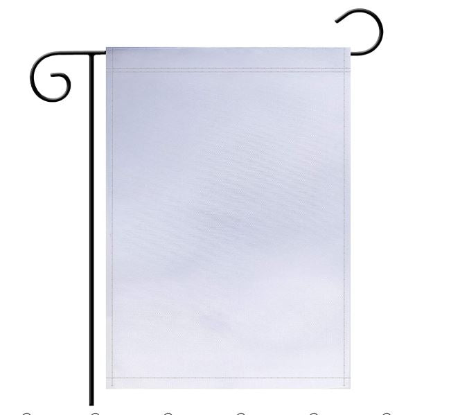 "Sublimation-,12""x 18 Double Sided Garden Flag"