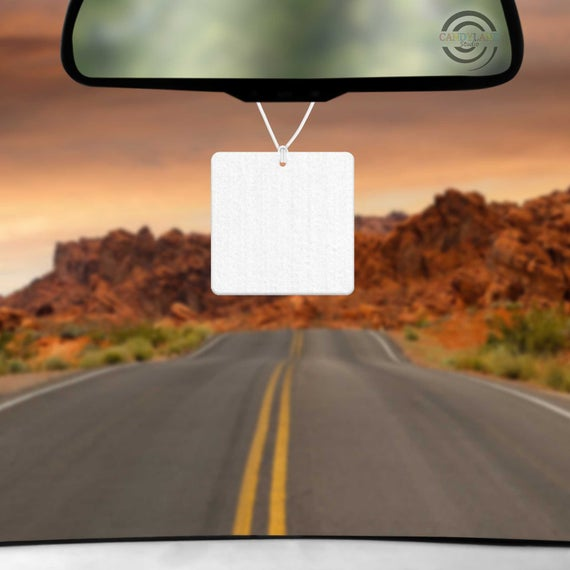Sublimation Blank Felt Air Freshener- Square