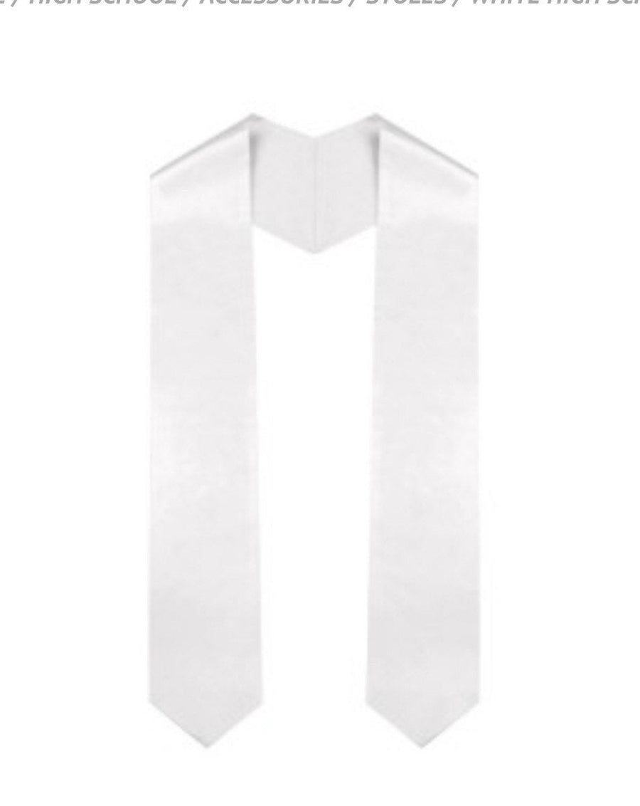 Sublimation Graduation Stole