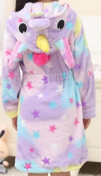 Girls Unicorn Robe