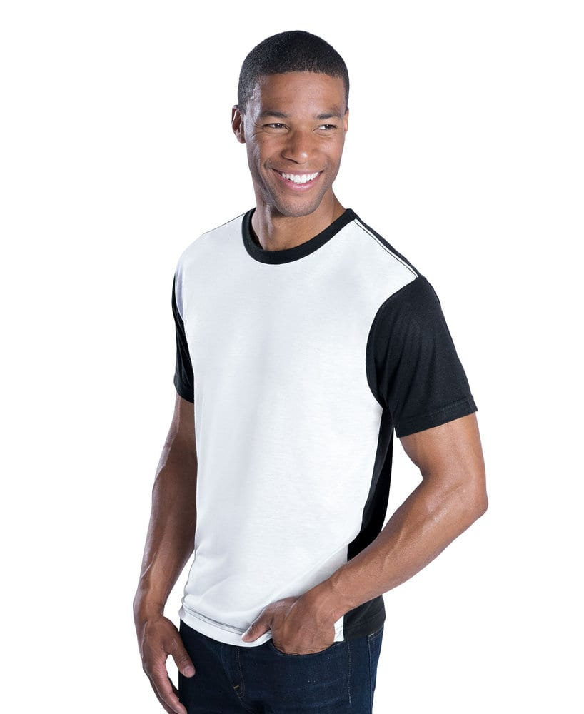 LAT Sublivie Men's Blackout Sublimation Tee