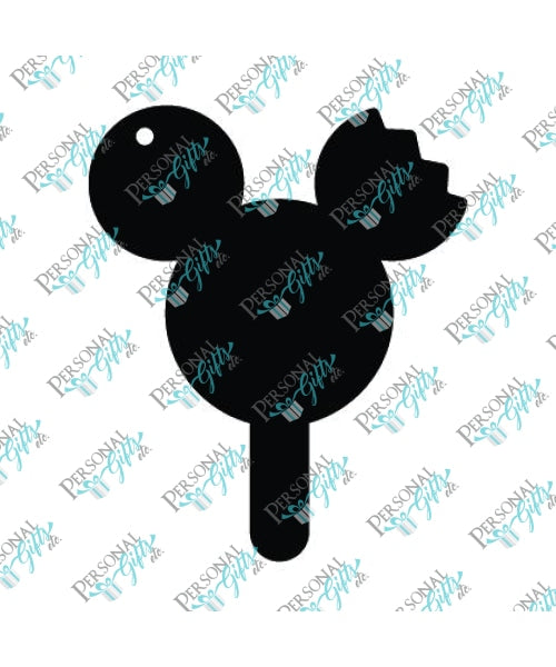 Mouse Ear Popsicle Keychain Blanks