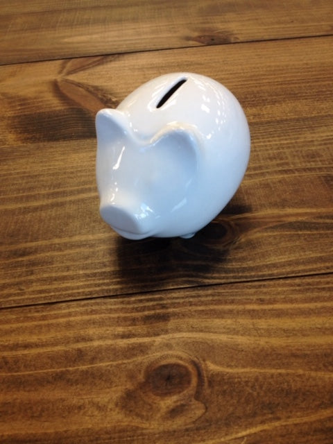 Ceramic Round Piggy Bank