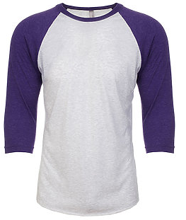 Next Level 6051 Adult 3/4 Sleeve Raglan Tee