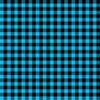 Buffalo Plaid Sky Blue/Black