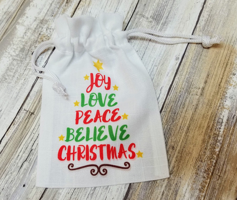 Sublimation Favor Bag-Small