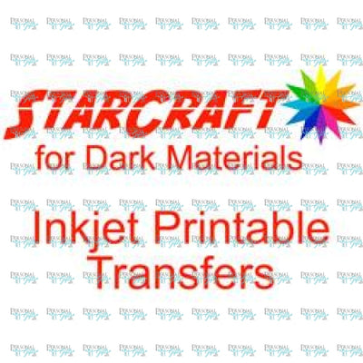 Starcraft Printable Htv For Dark Materials - Single Sheet Heat Transfer Vinyl